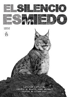 """Revista """"El silencio es miedo"""", fábula """"Pirámide de celos""""."""