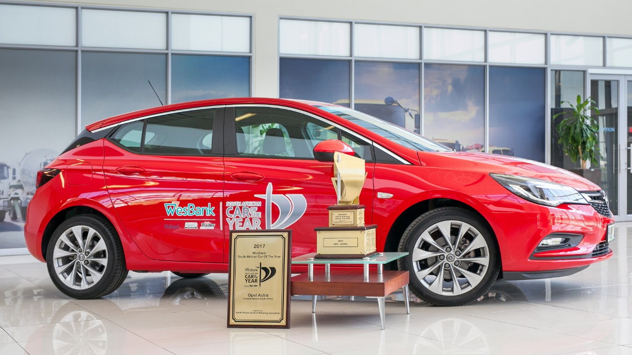 13ος εθνικός τίτλος 'Αυτοκινήτου της Χρονιάς' για το Astra: Το Opel Astra 'Αυτοκίνητο της Χρονιάς' και στη Ν. Αφρική