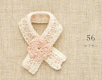 PAP como fazer um cachecol de crochê para barbie