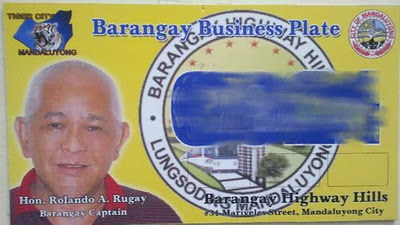 Barangay Business Permit