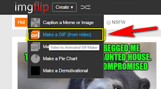 شرح كيفيه تحويل الفيديو الى صور متحركه