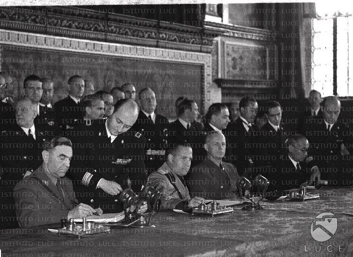 27 September 1940 worldwartwo.filminspector.com Tripartite Pact signing ceremony