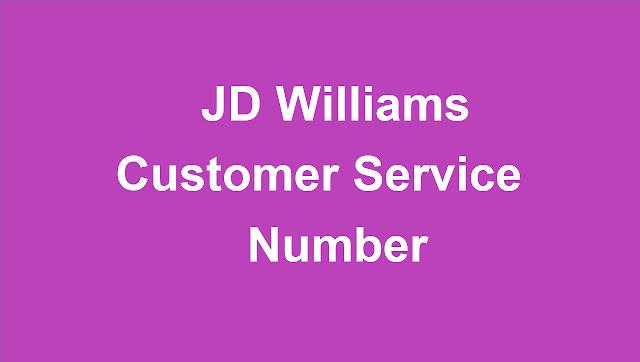 JD Williams Customer Service