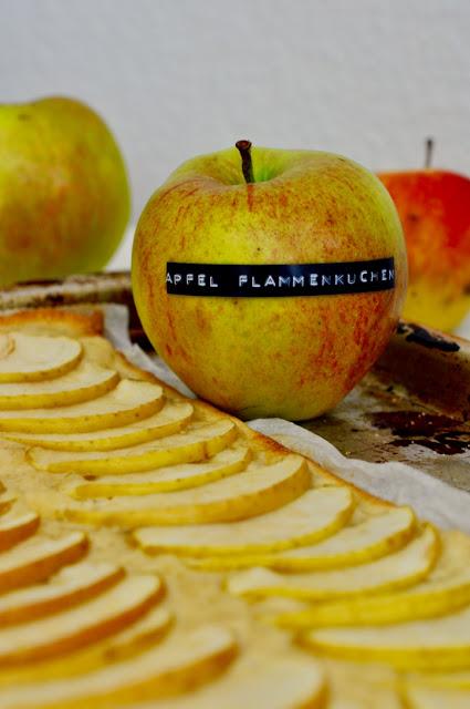 Infos zum Apfel Flammkuchen Rezept