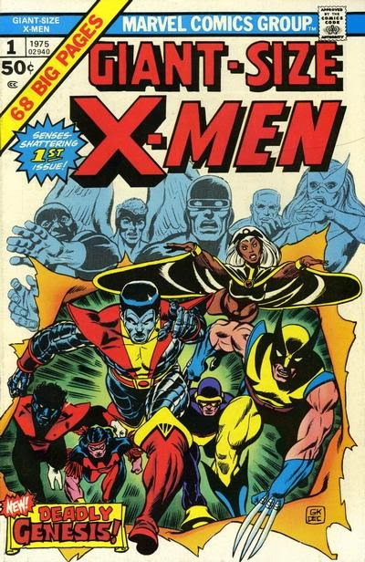 Giant-Size X-Men #1, Dave Cockrum and Gil Kane