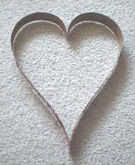 como hacer corazones de yeso
