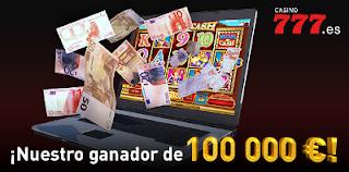Entrevista a ganador de 100 000 euros en Casino777
