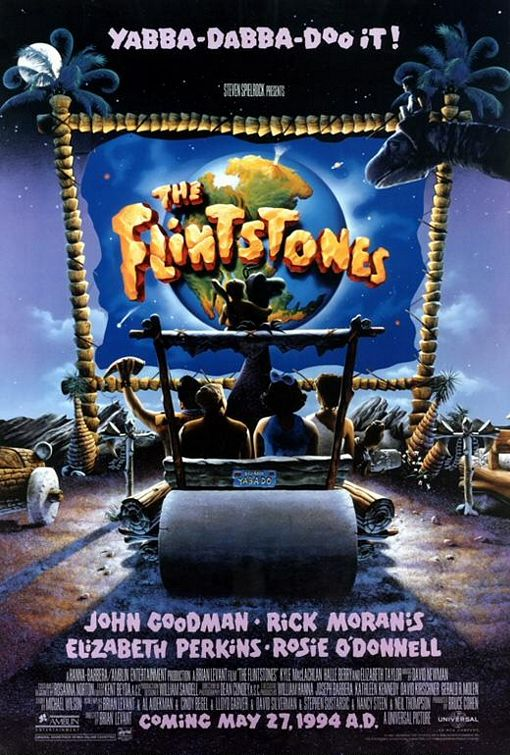 The Flintstones film poster