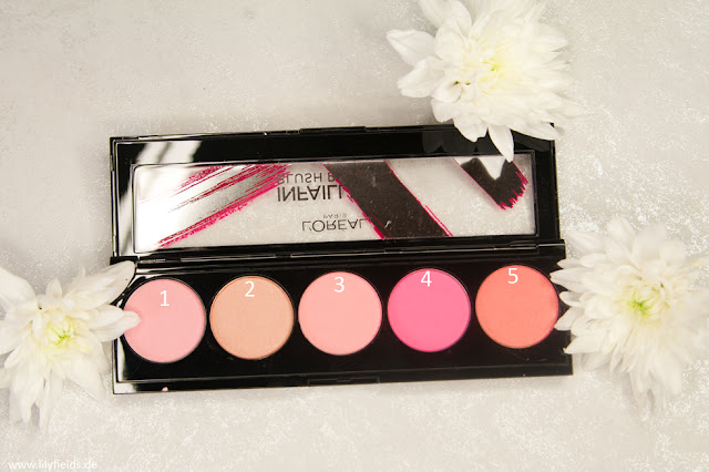 Blush Paint / Longwear High-Itensity Palette