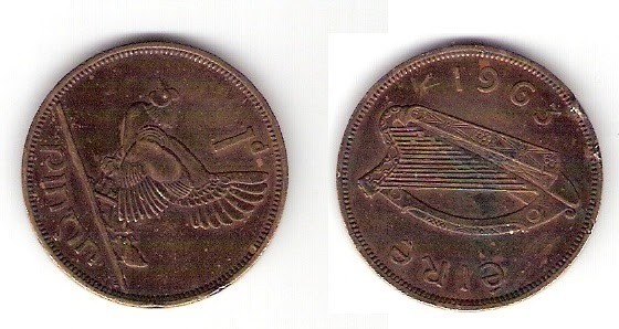 Raja S Coins Sale Ireland I 1pinn 1963 Rare Coin