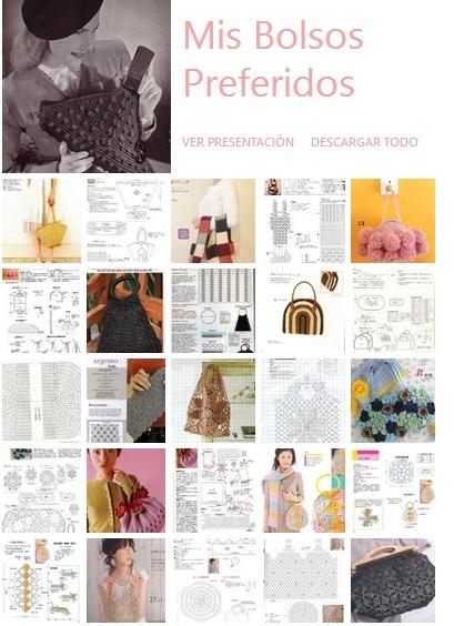 bolsos de crochet, patrones para crochet, patrones, gráficos