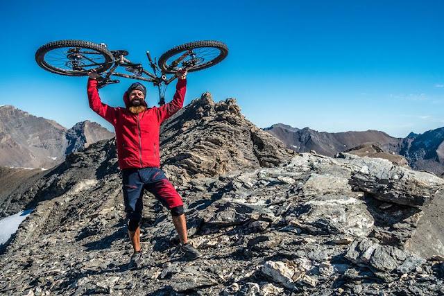 Gipfelsieg Pointe du Lamet Mountainbike