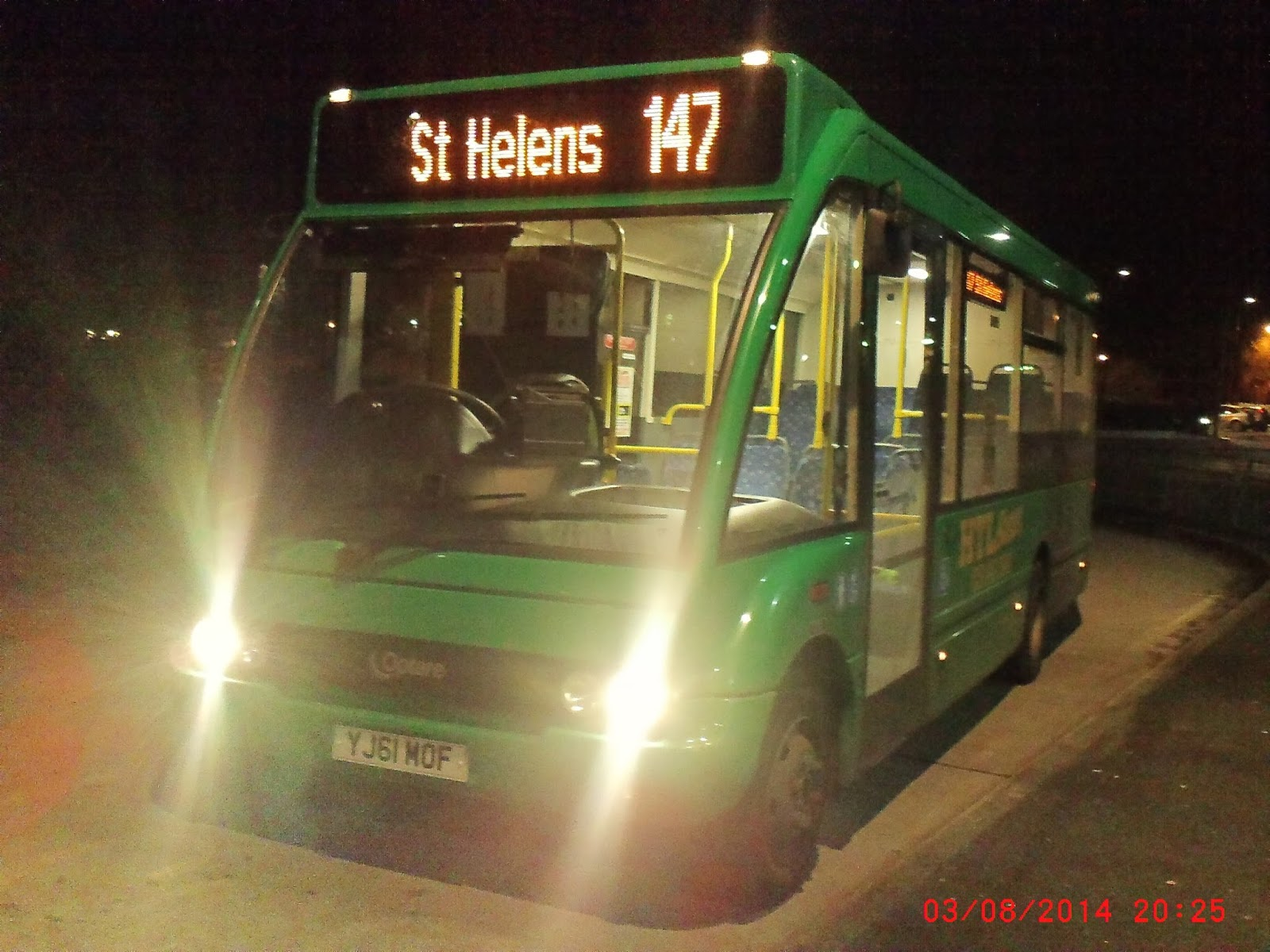 The 2002 Bus Blog St Helens Bus Review 4th September 2016
