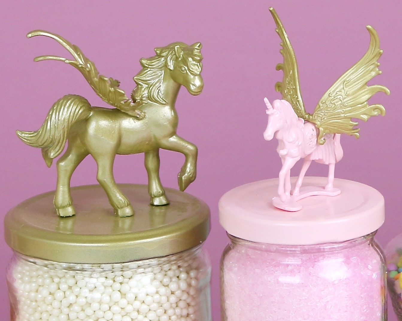 Video Diy Unicorn Jars The Lindsay Ann