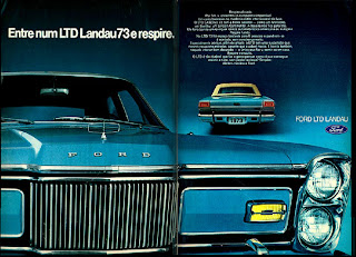 1973. brazilian advertising cars in the 70. os anos 70. história da década de 70; Brazil in the 70s; propaganda carros anos 70; Oswaldo Hernandez;