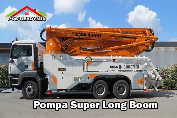 Harga Sewa Pompa super Longboom 2020