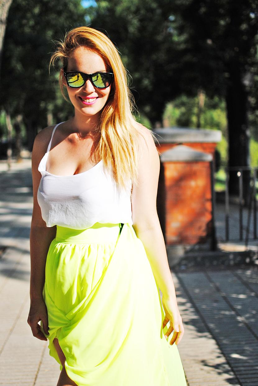 SNB blog, gafas de espejo, nowistyle, nowistyle bloggers, sunglasses, neon, Nery Hdez