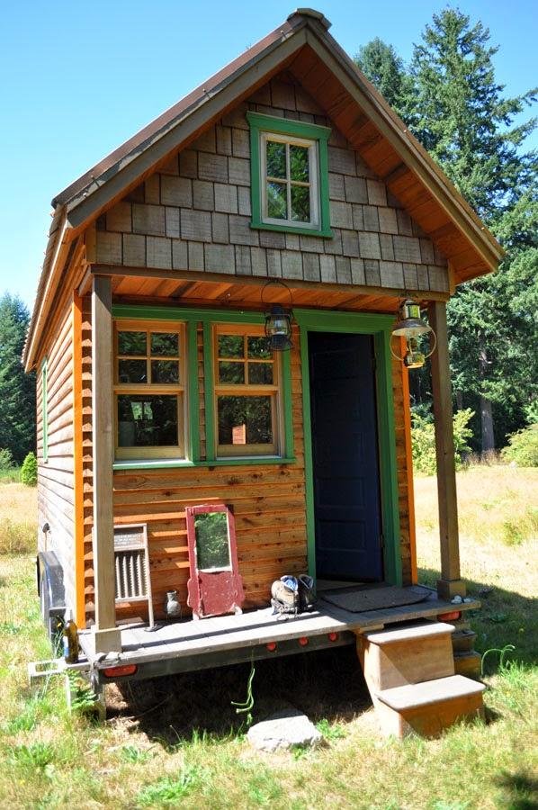Mycket Små Hus Tiny Houses Att Bo I Usa