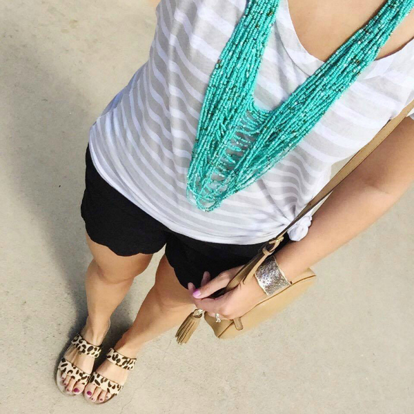 statement necklace, mom style