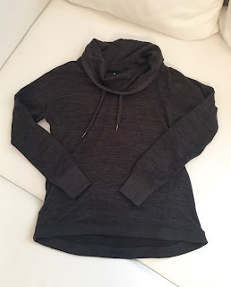 home away from home gym - fitness friday athleta hoodie