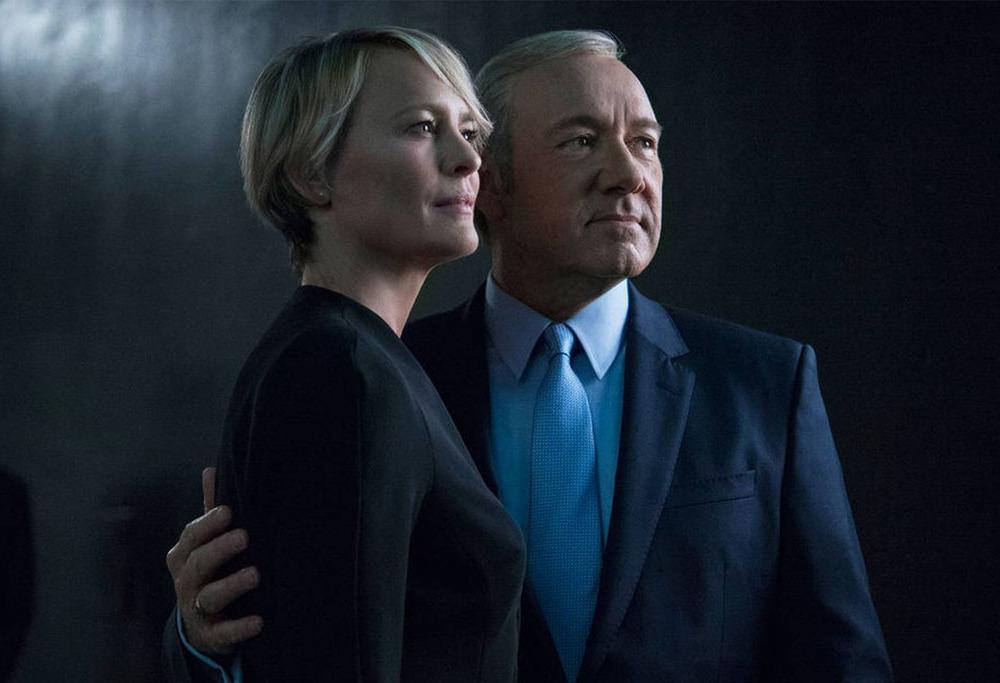 Frank (Kevin Spacey) y Claire Underwood (Robin Wright) la pareja más poderosa del mundo