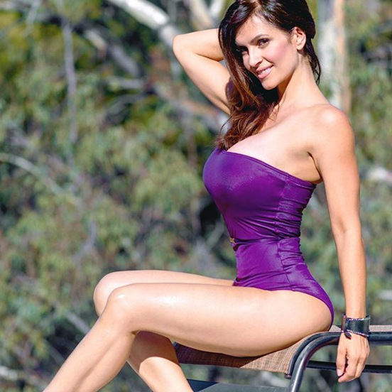 Fitness Model Denise Milani