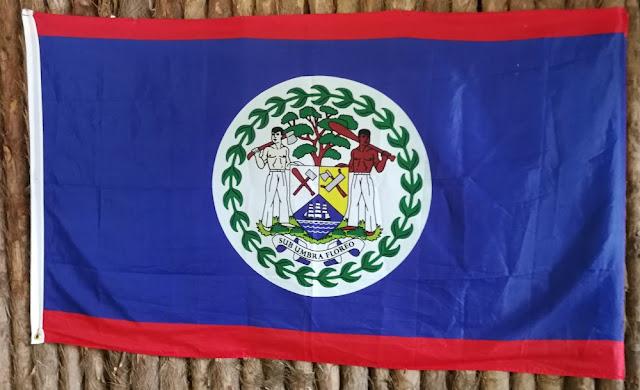 Flagge von Belize
