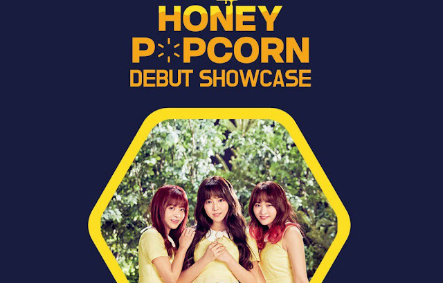 Honey Popcorn Logo Kpop Group
