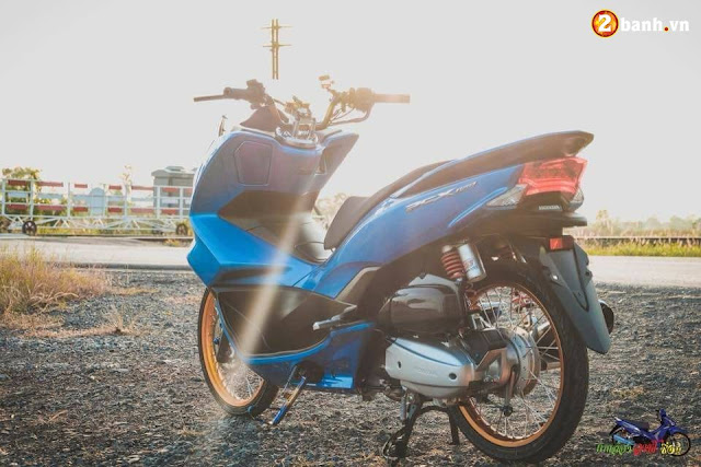 Modifikasi Simple Honda PCX Thailand