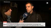 Entrevista TVGirona pel projecte de recollida i reutilització de RAEES