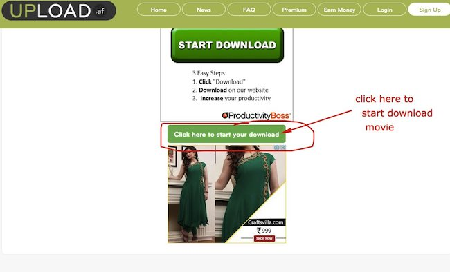 How to Download Files from Upload.af