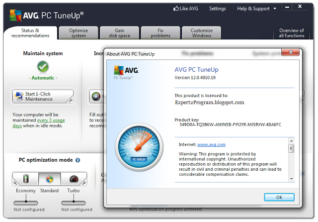 avg pc tuneup 2013 free download full version