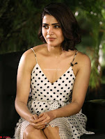 Samantha Ruth Prabhu looks super cute in a deep neck sleeveless short dress ~  Exclusive 026.jpg