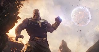Avengers Infinity War Thanos Pelea