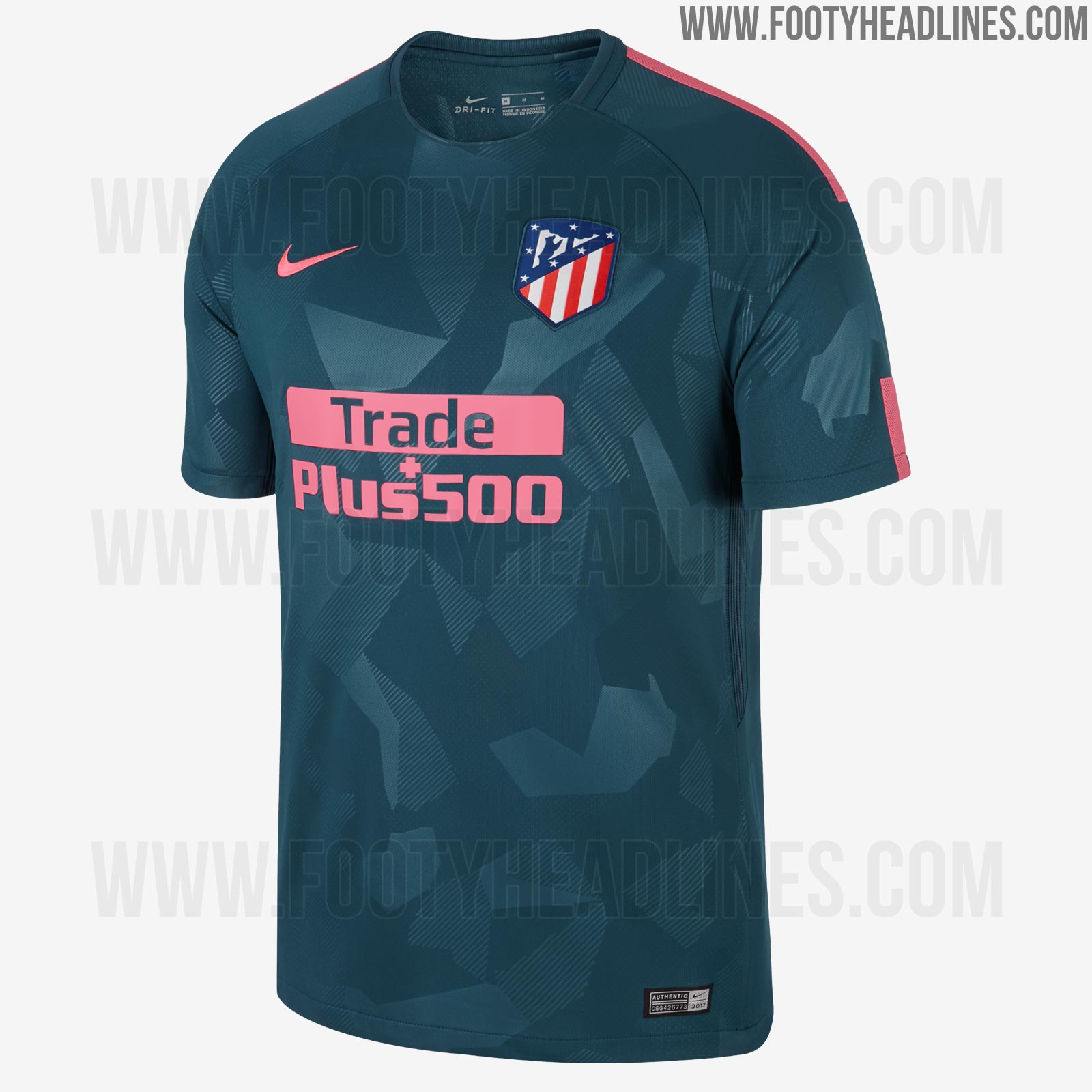 atletico madrid 17 18 third kit 2