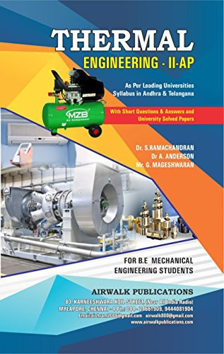 DOWNLOAD THERMAL ENGINEERING-ll [S RAMCHANDARAN & DR A ANDERSON] BOOK PDF