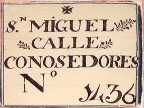 Entorno a Jerez Los azulejos con nombres de calles del