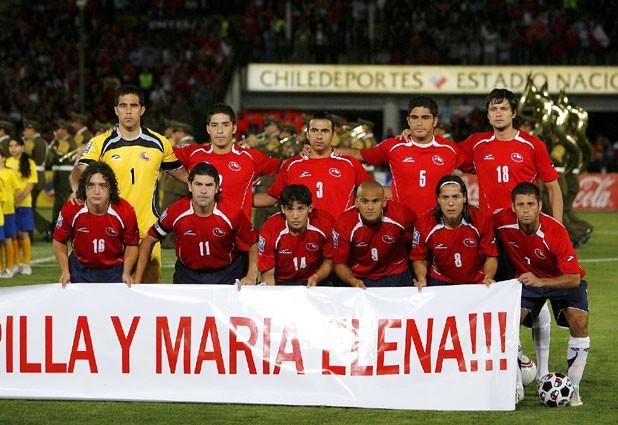 Formación de Chile ante Paraguay, Clasificatorias Sudáfrica 2010, 21 de noviembre de 2007