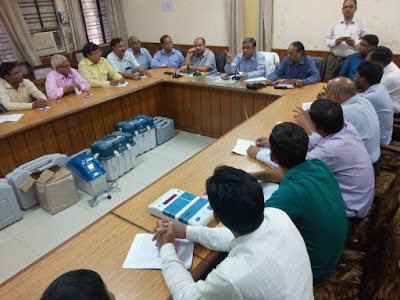 Training Organised For Postal Ballot Election Uttar Pradesh