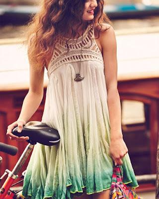 vestido corto tumblr de playa juvenil