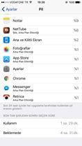 iOS 10.2 Şarj Durumu