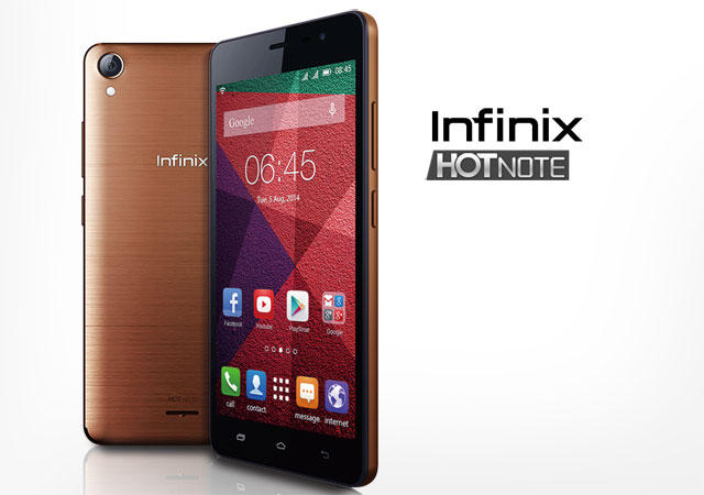 Infinix Mobile Hot Note