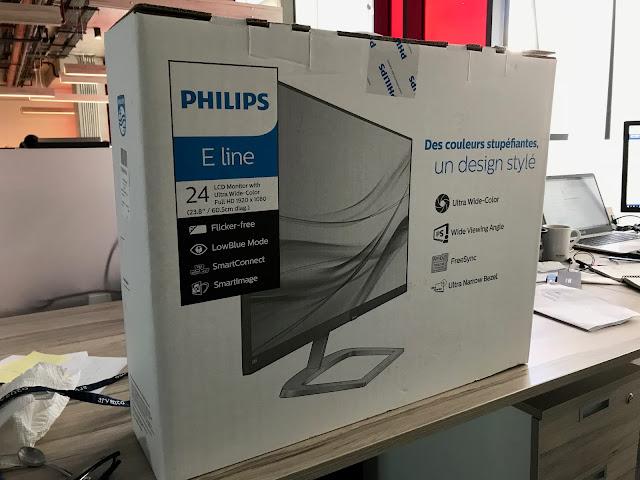 Philips 246E9Q LCD Monitör Kutu Açılışı