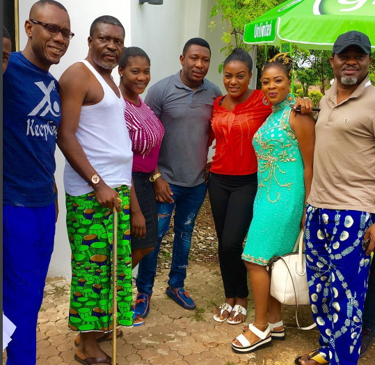 Photos: Mercy Johnson,Queen Nwokoye, Kanayo O Kanayo