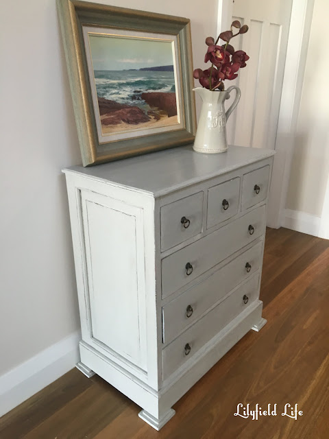 mixing greys with ASCP Chalk Paint
