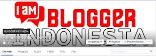 grup fb BLOGGER INDONESIA