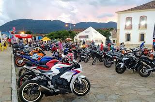 Encontro nacional de motociclistas