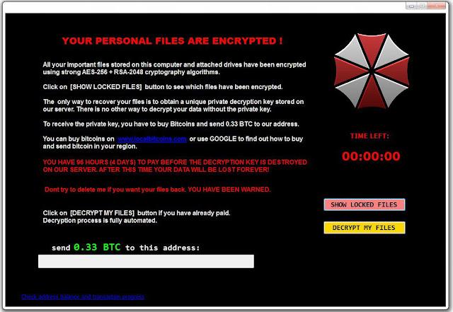 Fadesoft Ransomware Ψάχνουμε λύση για να μην πληρώσετε τα Bitcoin Λύτρα