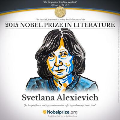 Svetlana Alexievich Nobel Prize 2015