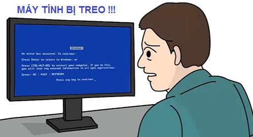 Làm gì khi máy tính bị treo?